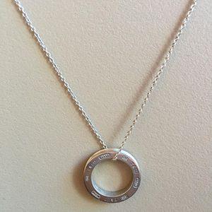 Tiffany & Co. 蒂芙尼圆环银项链