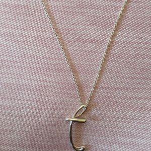 Tiffany & Co. 蒂芙尼t字母项链