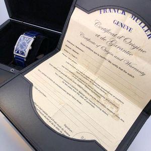 Franck Muller 法兰克穆勒长岛FM952蓝色表盘石英女表