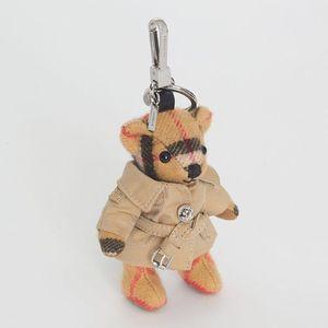 Burberry 博柏利风衣造型泰迪熊挂件钥匙扣