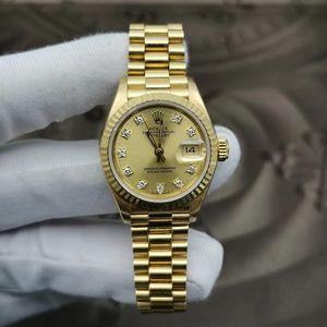 Rolex 劳力士老款女装日志型机械表