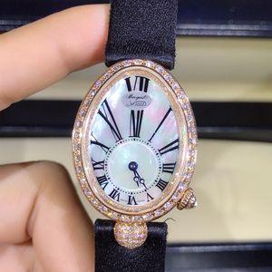 Breguet 宝玑那不勒斯皇后系列8928玫瑰金原钻机械女表
