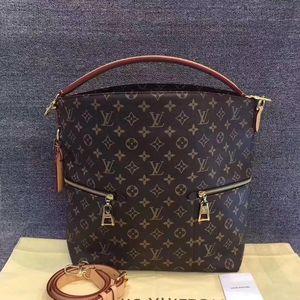Louis Vuitton 路易·威登老花水桶单肩手提包