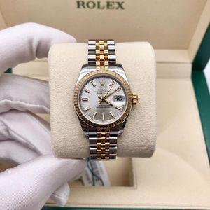 Rolex 劳力士女款日志系列179173银盘机械腕表