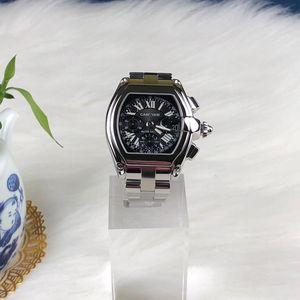 Cartier 卡地亚跑车系列男士自动机械腕表