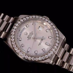 Rolex 劳力士星期日历DD218349白金原钻机械表