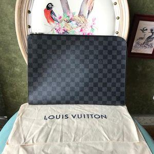 Louis Vuitton 路易·威登黑格大号手拿包
