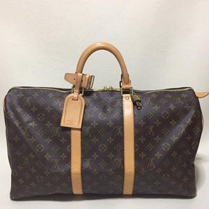 Louis Vuitton 路易·威登keepall 50老花手提款旅行袋