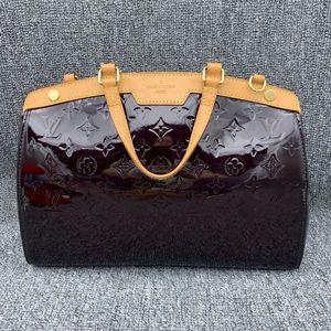 Louis Vuitton 路易·威登女士漆皮手提包