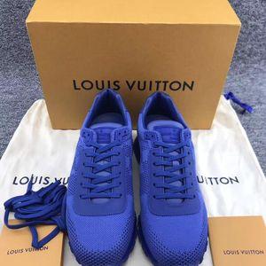 Louis Vuitton 路易·威登 男士蓝色运动休闲鞋