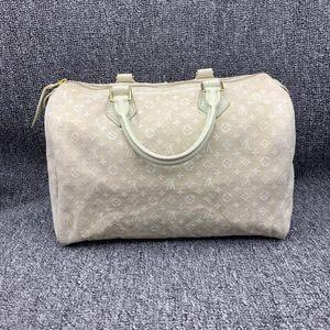 Louis Vuitton 路易·威登牛仔布女士手提包