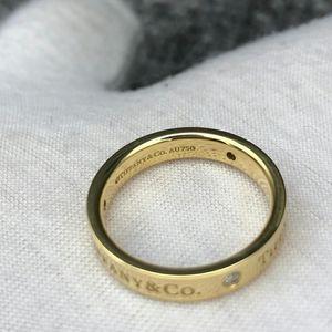 Tiffany & Co. 蒂芙尼三钻戒指