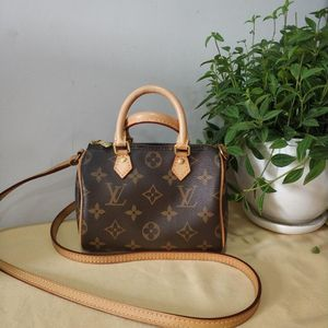Louis Vuitton 路易·威登speedynano单肩包