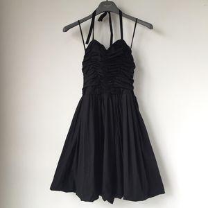 Miu Miu 缪缪黑色女士连衣裙