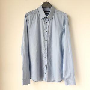 GUCCI 古驰蓝色男士衬衫