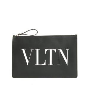 Valentino 华伦天奴VLTN真皮男女款手拿包钱包