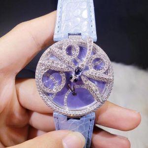 Cartier 卡地亚创意宝石系列HPI00482小蜻蜓石英女表