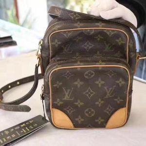 Louis Vuitton 路易·威登老花相机包单肩包