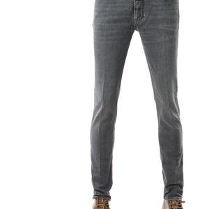 Emporio Armani 安普里奥·阿玛尼 男士做旧修身牛仔裤
