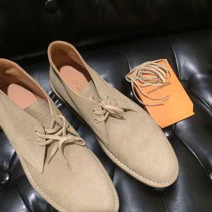 Louis Vuitton 路易·威登高帮牛皮系带休闲鞋