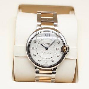 Cartier 卡地亚蓝气球系列WE902031女士机械腕表