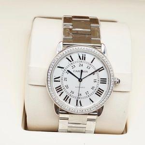 Cartier 卡地亚SOLO系列0012机械腕表