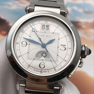 Cartier 卡地亚W31093M7帕莎自动机械腕表