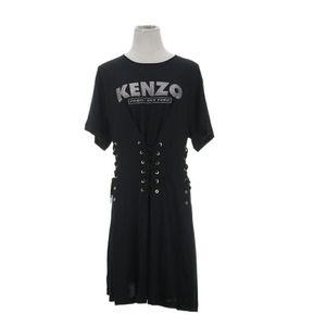 KENZO 高田贤三绑带字母logo连衣裙