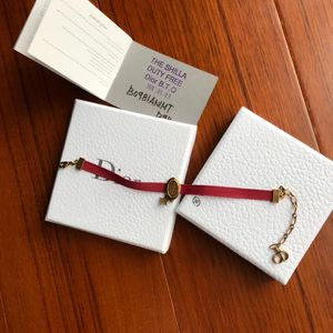 Dior 迪奥红色手链