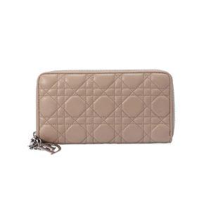 Dior 迪奥经典格子手拿羊皮长款钱包