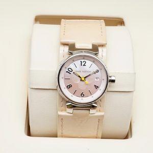 Louis Vuitton 路易·威登TAMBOUR系列女士石英腕表