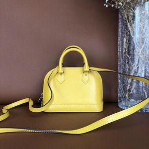 Louis Vuitton 路易·威登柠檬黄手提单肩包