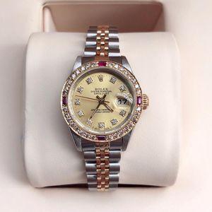 Rolex 劳力士69173g机械女表