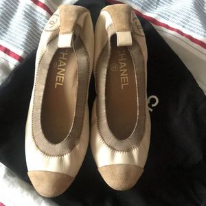 CHANEL 香奈儿小羊皮休闲鞋