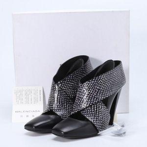 Balenciaga 巴黎世家交叉高跟鞋