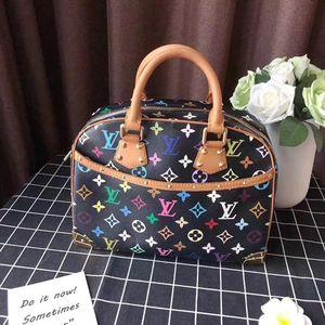 Louis Vuitton 路易·威登黑三彩手提包