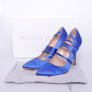 Manolo Blahnik 马诺洛绑带高跟鞋
