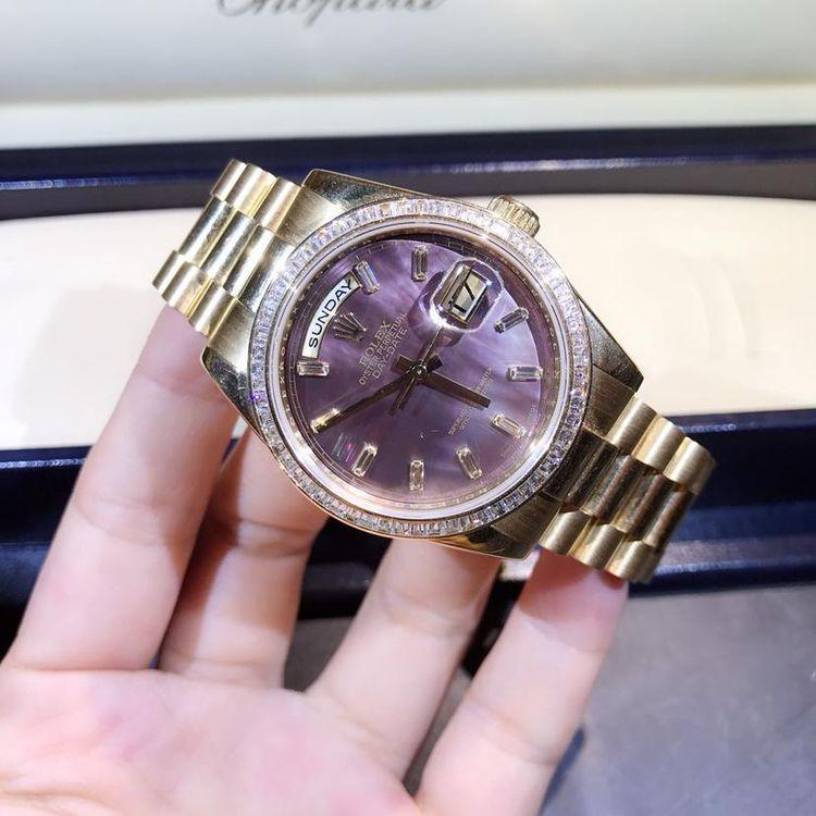 Rolex 劳力士18k黄金钻石自动机械腕表