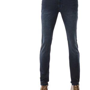 Emporio Armani EA 阿玛尼男士深色修身牛仔裤长裤