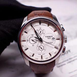 TISSOT 天梭库图系列T035.627.16.031.00运动款机械腕表