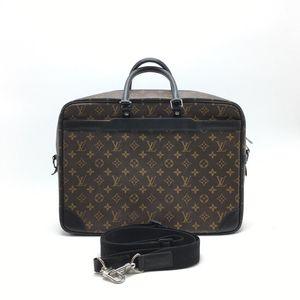 Louis Vuitton 路易·威登老花拼皮男士手提公文包