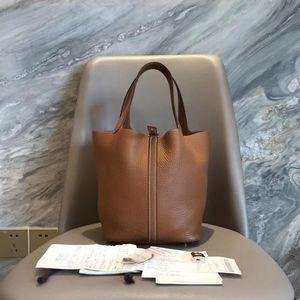 Hermès 爱马仕棕色手提包