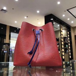 Louis Vuitton 路易·威登拼色水桶包手提包