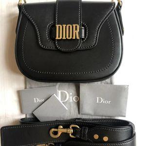 Dior 迪奥D-Fence子母马鞍宽肩带单肩包