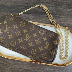 Louis Vuitton 路易·威登麻将包手提包