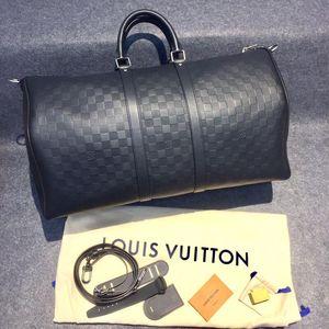 Louis Vuitton 路易·威登黑色旅行袋旅行包