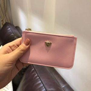 Versace 范思哲粉色小钱包