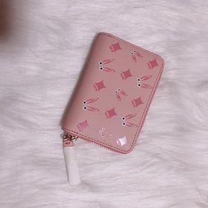 MCM 兔子系列粉色卡包