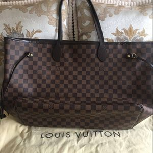Louis Vuitton 路易·威登经典nf大号单肩包