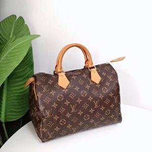 Louis Vuitton 路易·威登经典老花speedy 30手提包枕头包